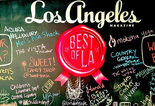 Los Angeles Magazine Best Pilates of L.A. 2013 - Lesley Logan Pilates