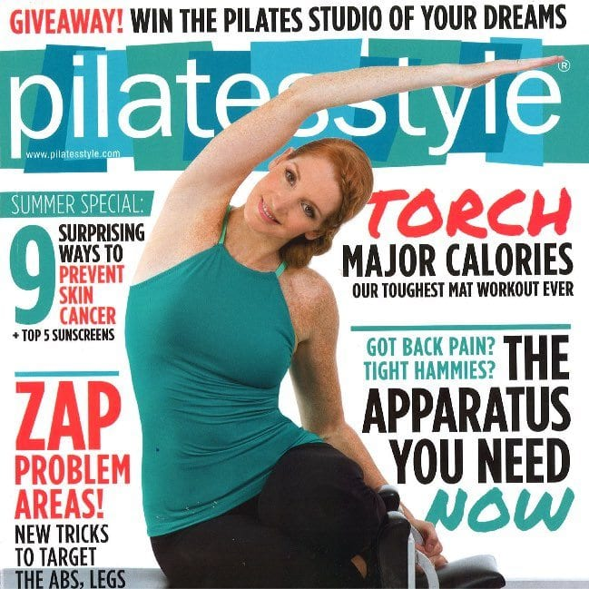 Pilates Style Magazine June 2014 Lesley Logan Pilates