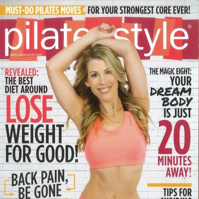 Pilates Style Magazine October 2014 Lesley Logan Pilates