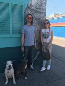 Crow&LL with Gaia and Bayon in Venice, CA