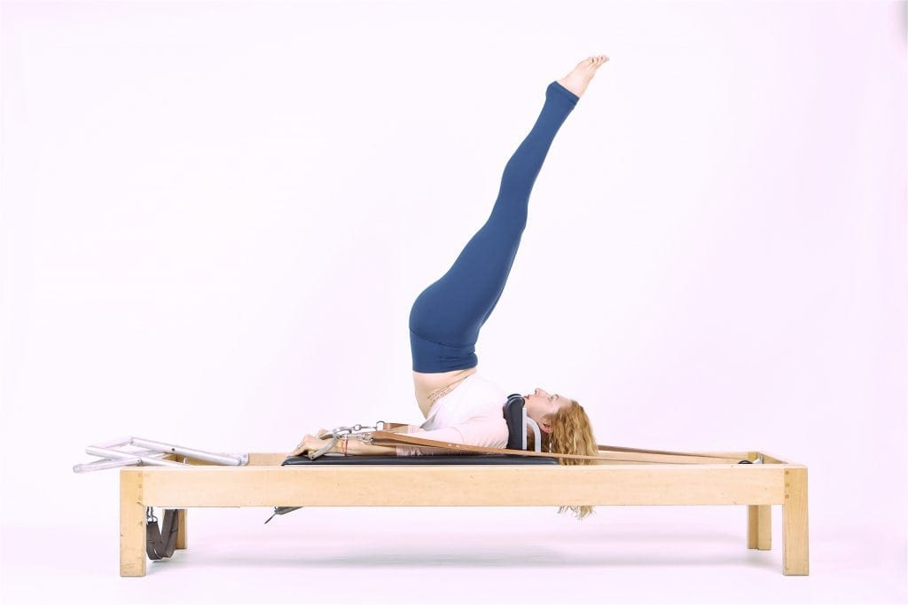 Pilates Overhead on the Reformer