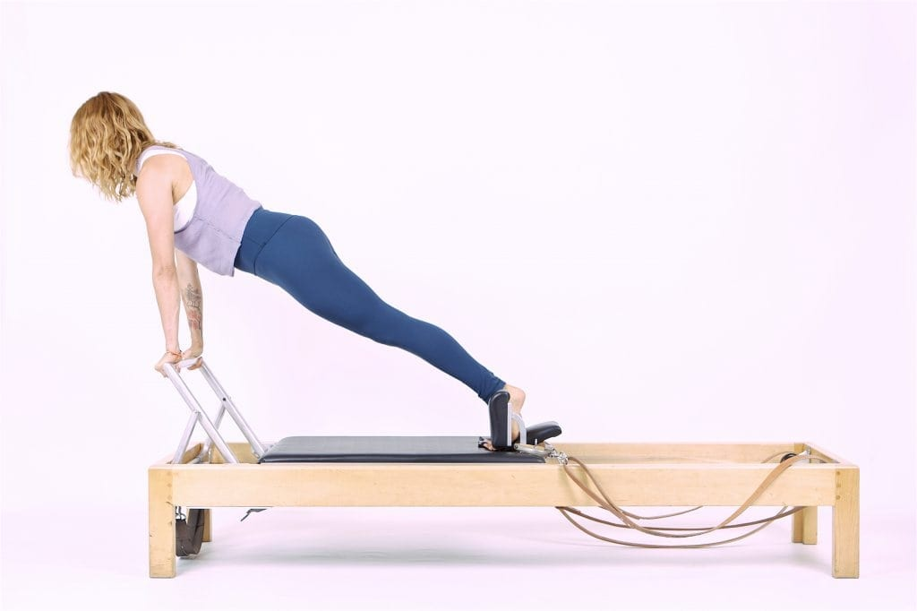 Pilates Long Stretch on the Reformer