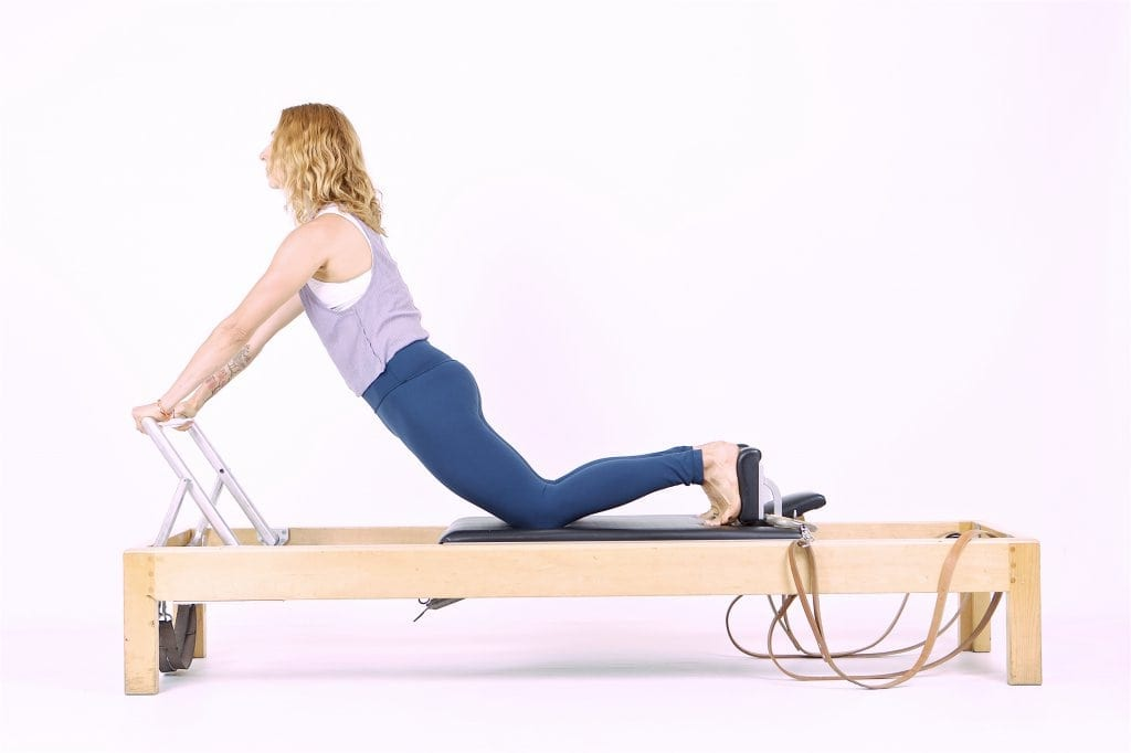 Pilates Down Stretch on the Reformer