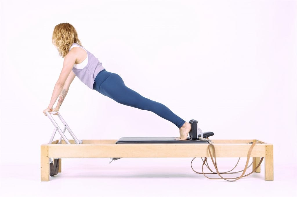 Pilates Up Stretch on the Reformer