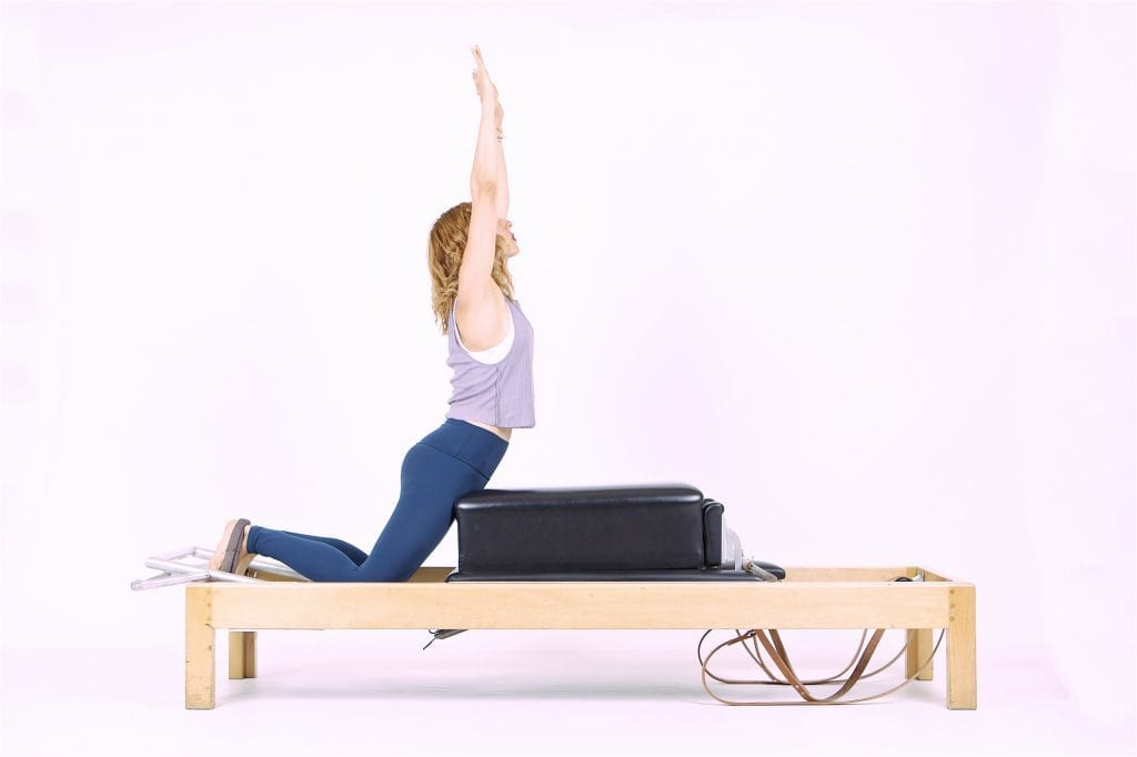 Pilates Swan on the Reformer