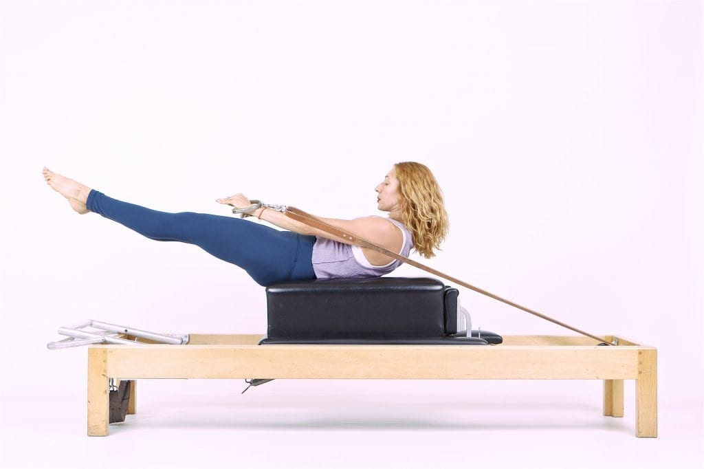Pilates Backstroke on the Reformer