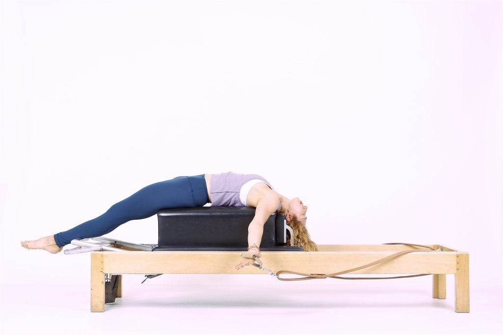 Pilates Teaser on the Reformer