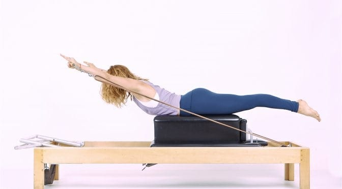 Pilates Breaststroke on the Reformer