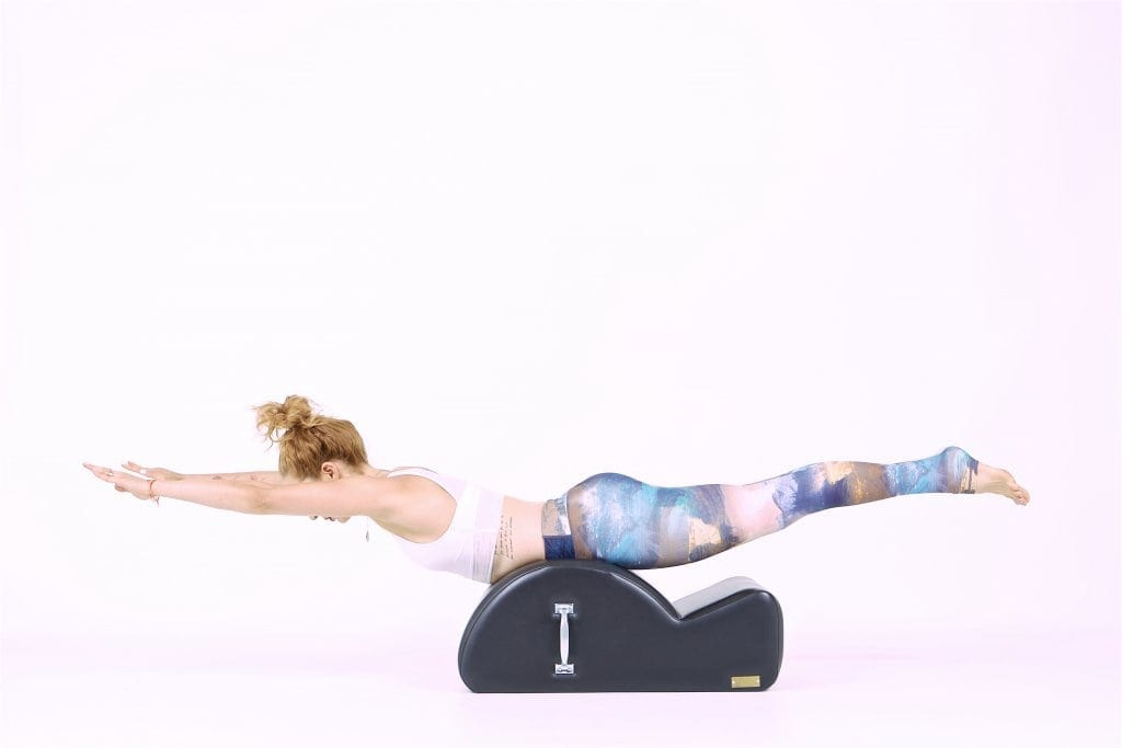Swan on the Spine Corrector on the Mat