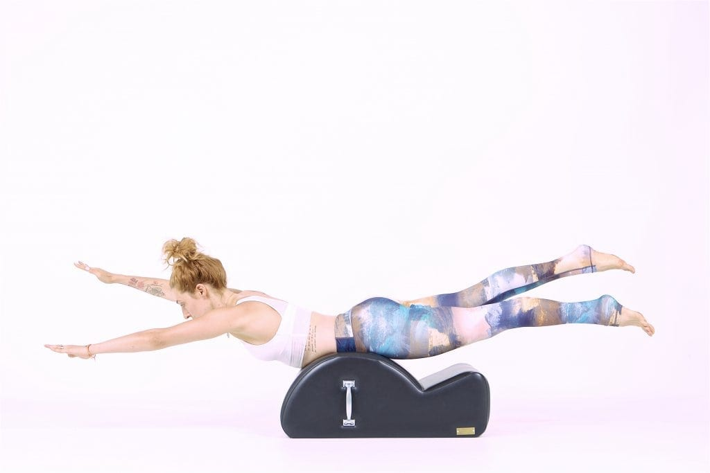 Swimming on the Spine Corrector