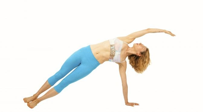 Pilates Side Bend on the Mat