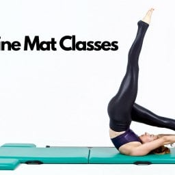 Control Balance on the Mat - Online Pilates Classes - Black - Banner