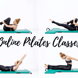 Online Mat Pilates Classes Lesley Logan Ab Series Black OPC
