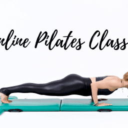 Online Mat Pilates Classes Lesley Logan Pushups Black OPC