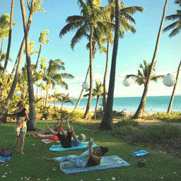 Pilates Retreat Maui - Lesley Logan & Arlene Salomon 2018 - Day 4 Mat Class 2 - PilatesRetreatMaui.com filtered