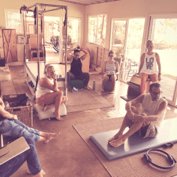 Reformer on the Mat Workshop - PilatesRetreatMaui.com - Lesley Logan filtered