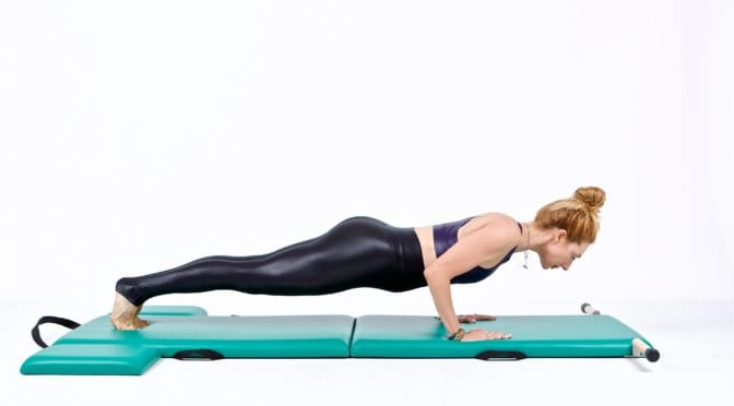 Push-Ups on the Mat | Online Pilates Classes