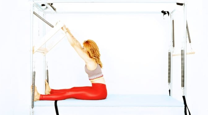 Push Through on the Cadillac | Online Pilates Classes