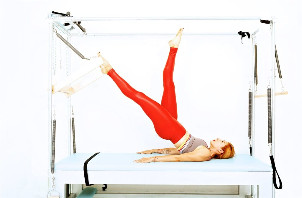 Shoulder Roll Down on the Cadillac | Online Pilates Classes