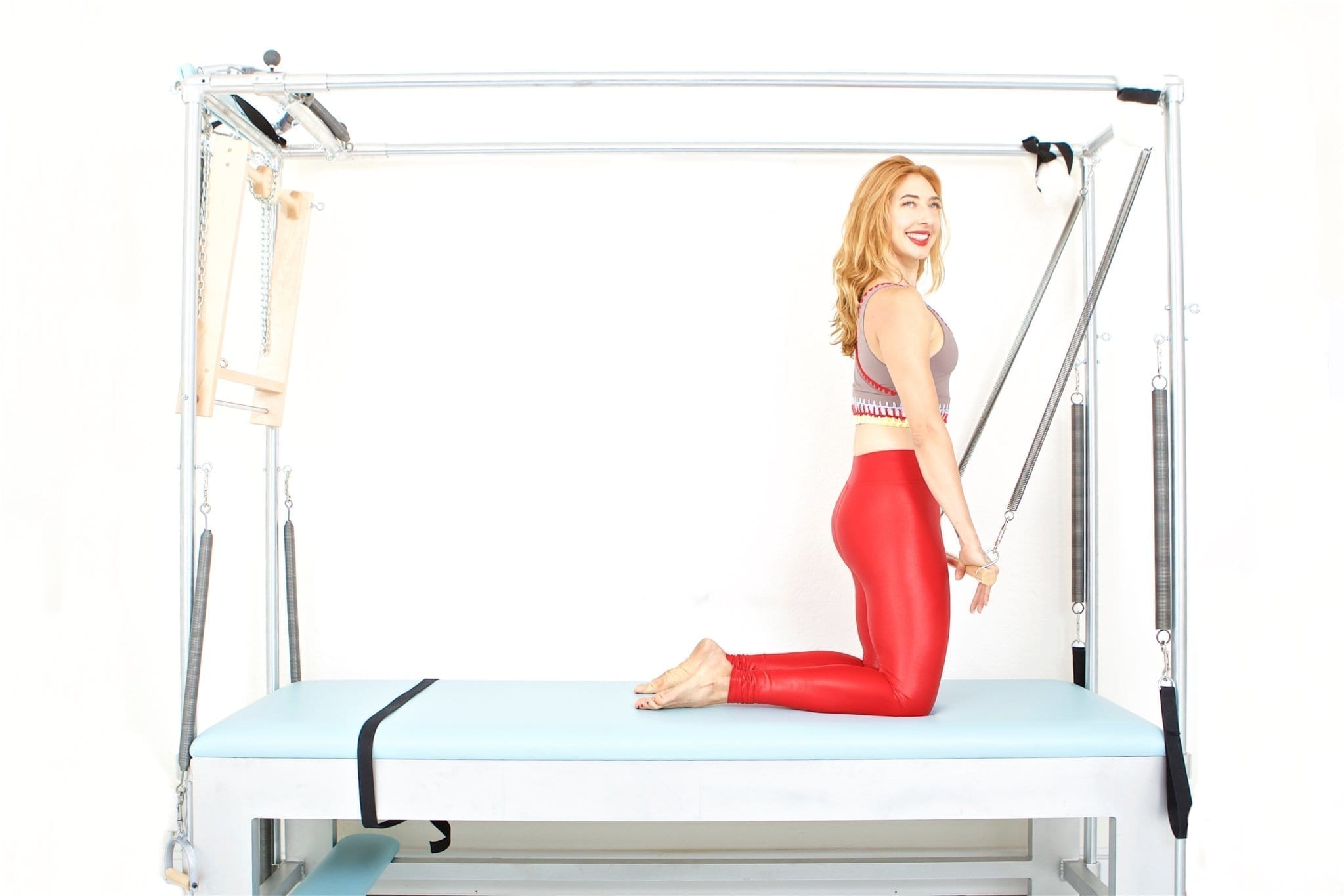 Chest Expansion on the Cadillac | Online Pilates Classes