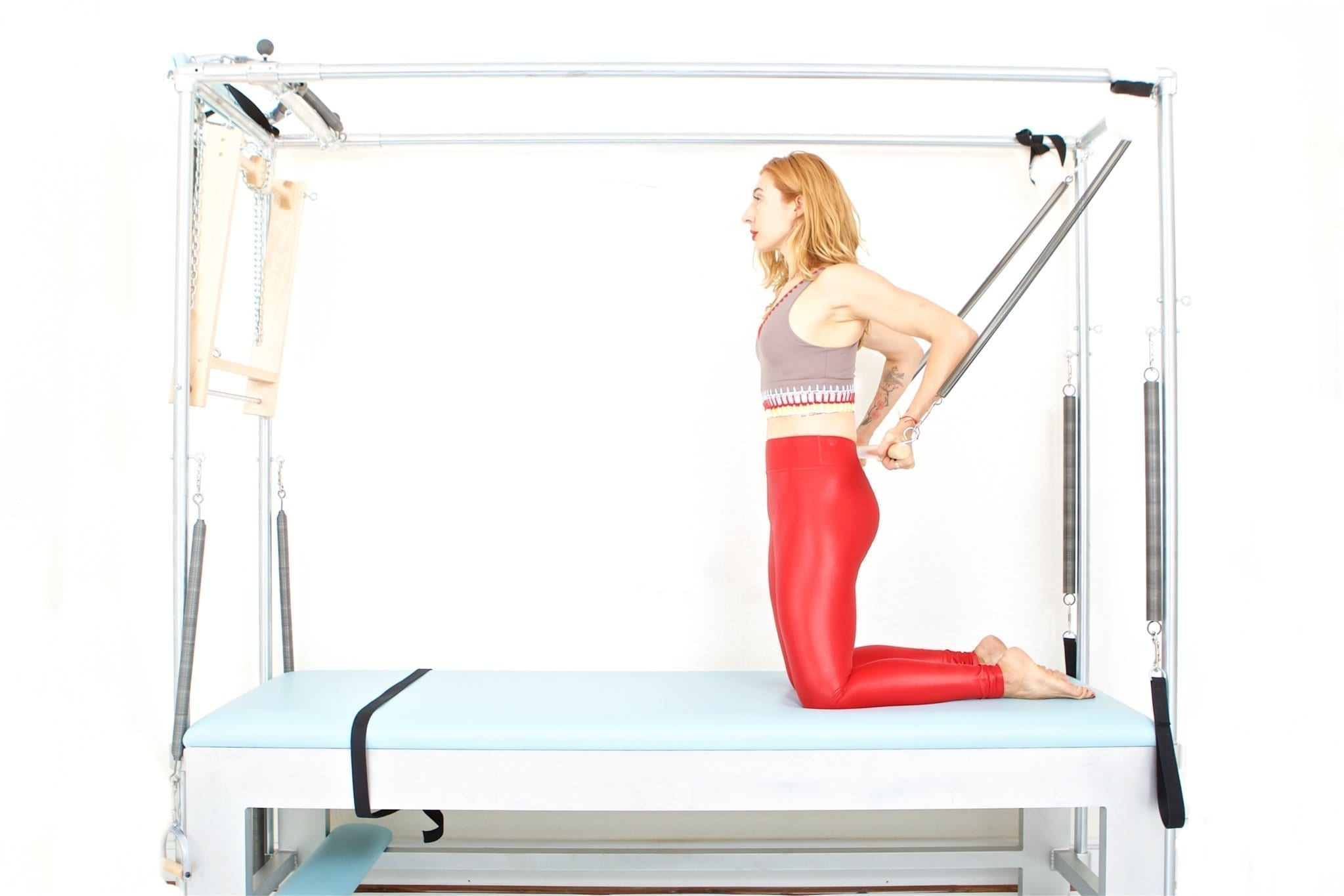 Long Back Arms on the Cadillac | Online Pilates Classes