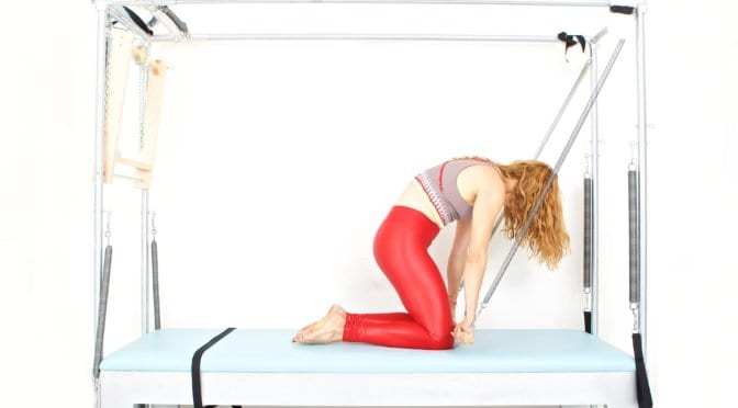 Rolling In and Out on the Cadillac | Online Pilates Classes
