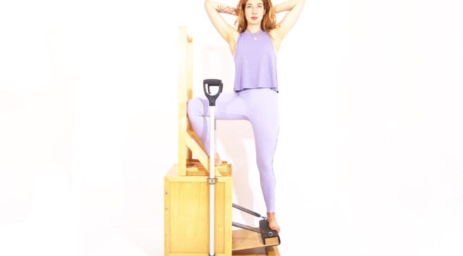 Going Up Side on the High Chair | Online Pilates Classes