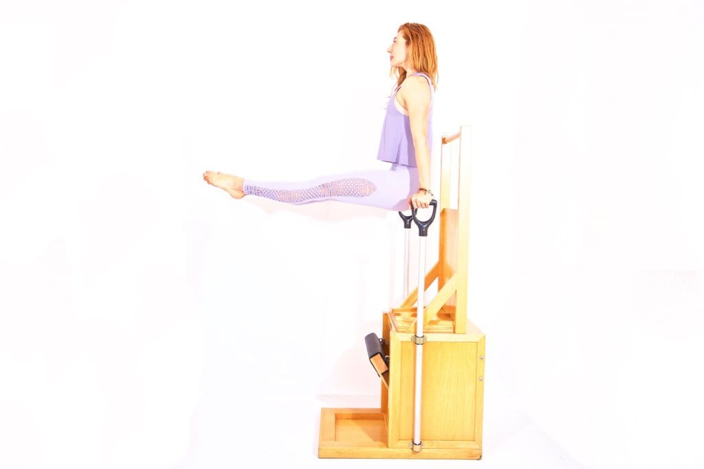 Press Up Back on the High Chair | Online Pilates Classes