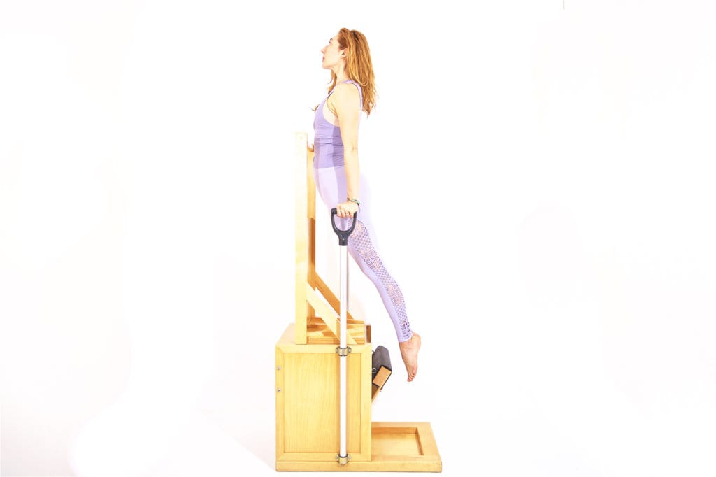 Press Up Front on the High Chair | Online Pilates Classes