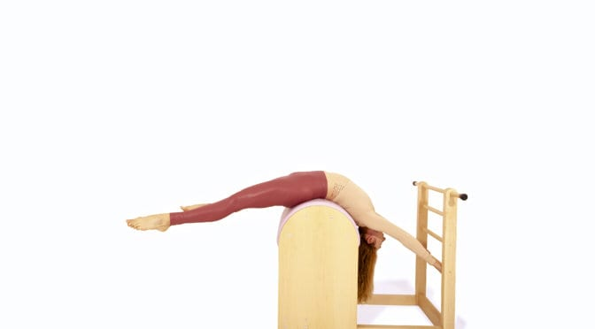 Leg Circles on the Ladder Barrel | Online Pilates Classes