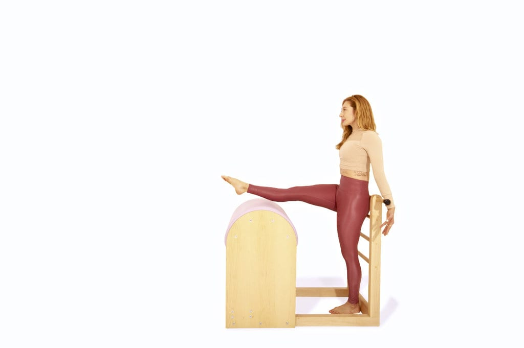 Ballet Stretches on the Ladder Barrel   Online Pilates Classes