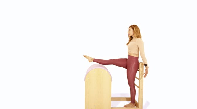 Ballet Stretches on the Ladder Barrel | Online Pilates Classes