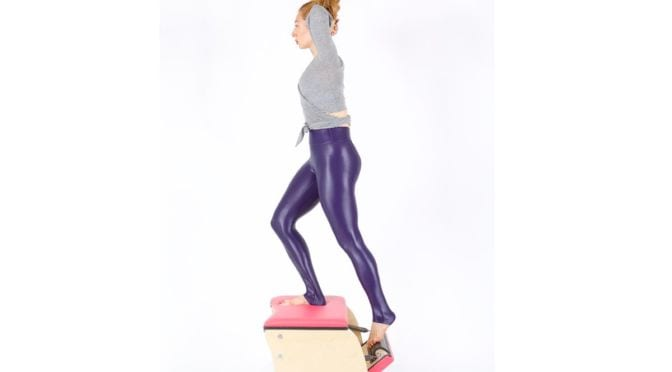 going up front on the wunda chair Online Mat Pilates Classes Lesley Logan 129 2