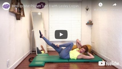 Lesley Logan Intro to Online Pilates Mat Classes 3