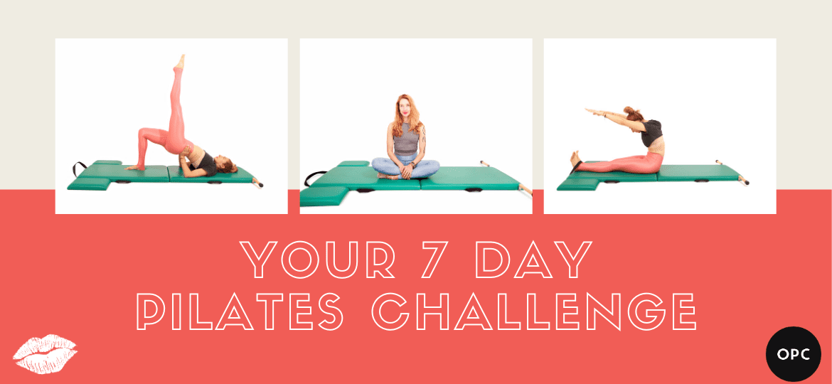 7 day at home Pilates challenge