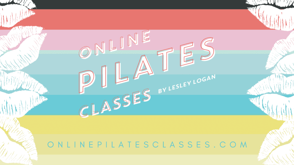 Online Pilates Classes Lips Logo Wallpaper v4