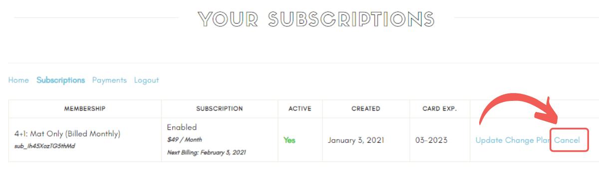 Online Pilates Classes FAQs Cancel Subscriptions2