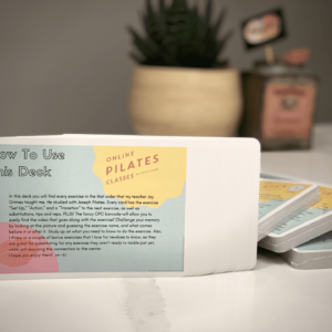 OPC Pilates Flashcards Mat Product Photos 1
