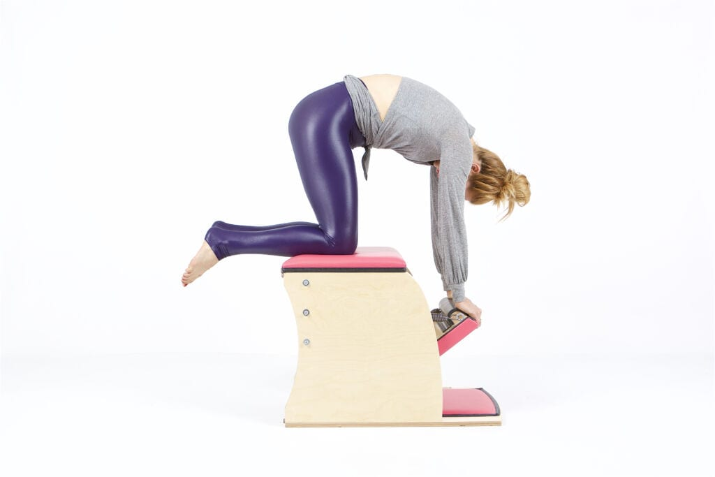 Kneeling Push Down on the Wunda Chair | Online Pilates Classes